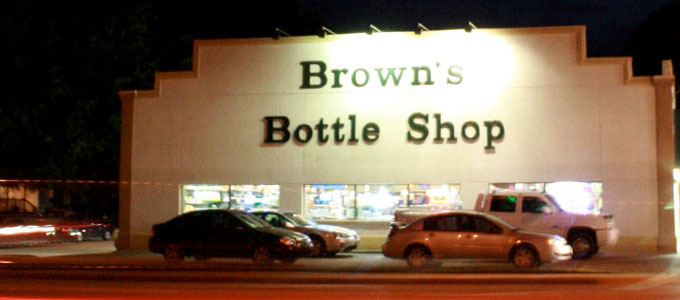 Brown's Bottle Shop